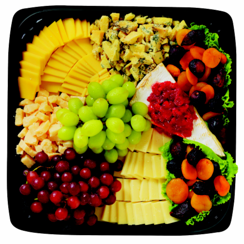Deli Specialty Cheese Tray Medium Perspective: front