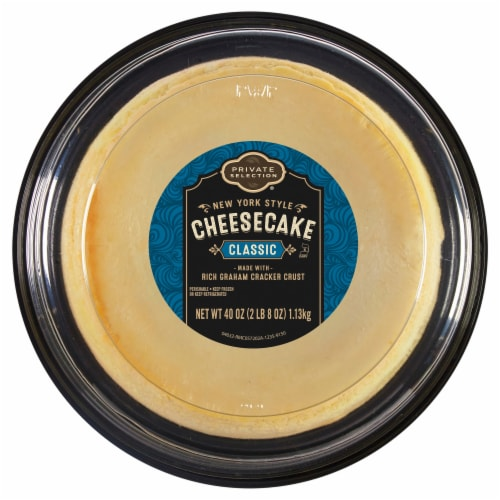 Private Selection® Classic New York Style Cheesecake Perspective: front