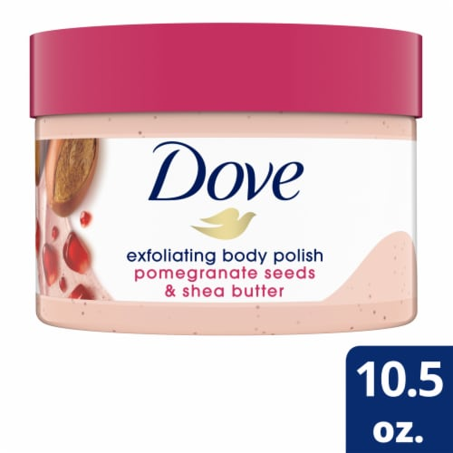 Dove Pomegranate Seeds & Shea Butter Exfoliating Body Polish Perspective: front