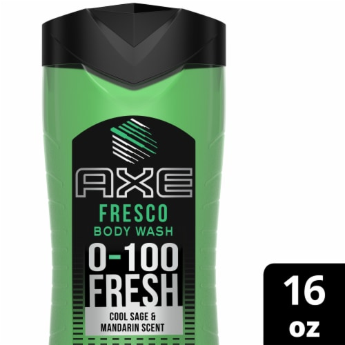 Axe Fresco Body Wash Perspective: front