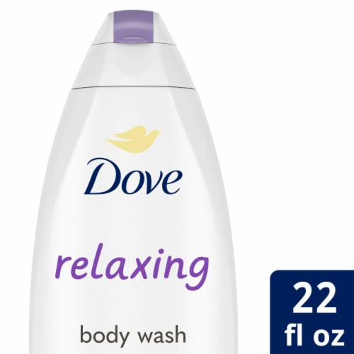 Dove Relaxing Lavender Body Wash Perspective: front