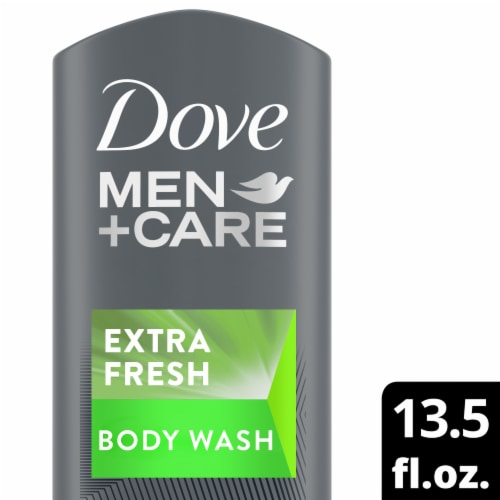 Dove Men+Care Extra Fresh Micro Moisture Body Wash Perspective: front