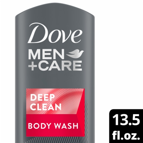 Dove Men+Care Deep Clean Body Wash Perspective: front