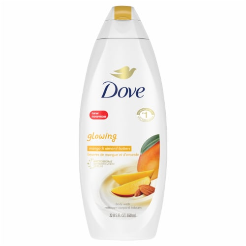Dove Mango + Almond Butter Body Wash Perspective: front