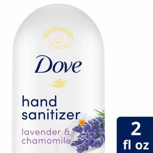 Dove Lavender Chamomile Nourishing Hand Sanitizer Perspective: front