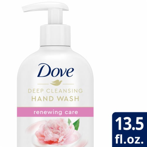 Dove Peony Hand Wash Perspective: front