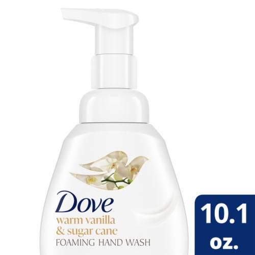 Dove Warm Vanilla and Sugar Cane Hand Wash Perspective: front