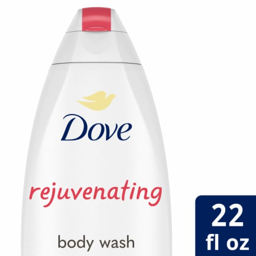 Dove Go Fresh Pomegranate and Lemon Verbena Scent Body Wash Perspective: front