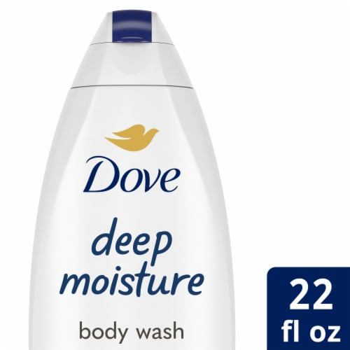 Dove Deep Moisture Nourishing Body Wash Perspective: front