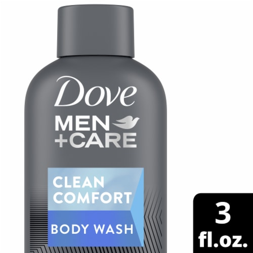 Dove Men+Care Clean Comfort Body and Face Wash Perspective: front
