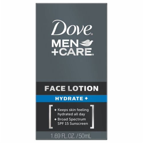 Dove Men + Care Hydrate Face Lotion Perspective: front