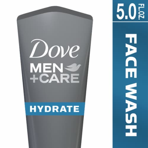 Dove Men + Care Hydrate Face Wash Perspective: front
