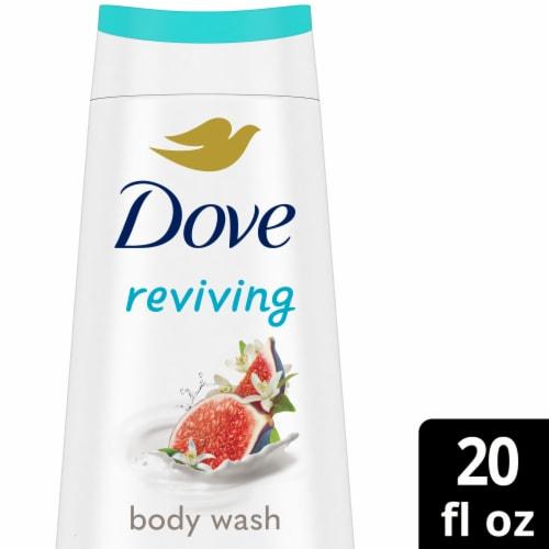 Dove Go Fresh Blue Fig & Orange Blossom Scent Body Wash Perspective: front