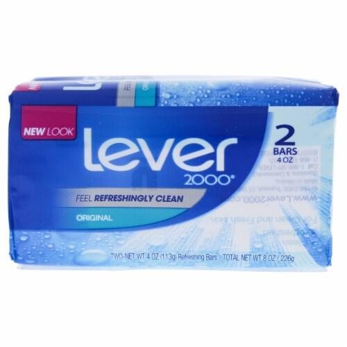Lever 2000 Original Bar Soap Perspective: front
