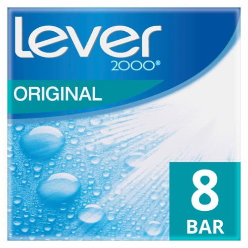 Lever 2000 Original Bar Soap Perspective: front