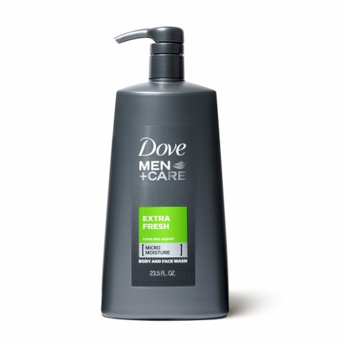 Dove Men+Care Extra Fresh Micro Moisture Body and Face Wash Perspective: front