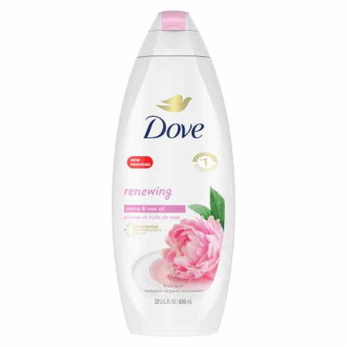 Dove Purely Pampering Sweet Cream with Peony Scent Body Wash Perspective: front