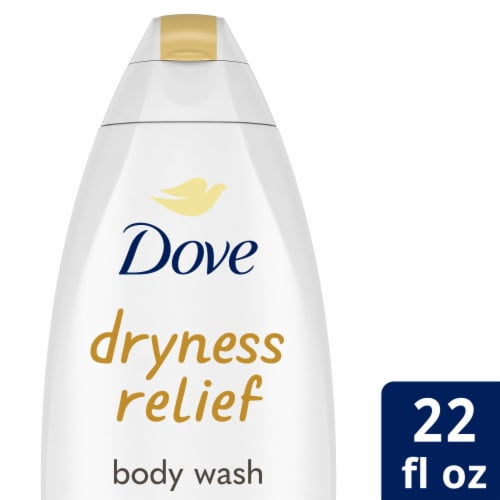Dove Dryness Relief Nourishing Body Wash Perspective: front