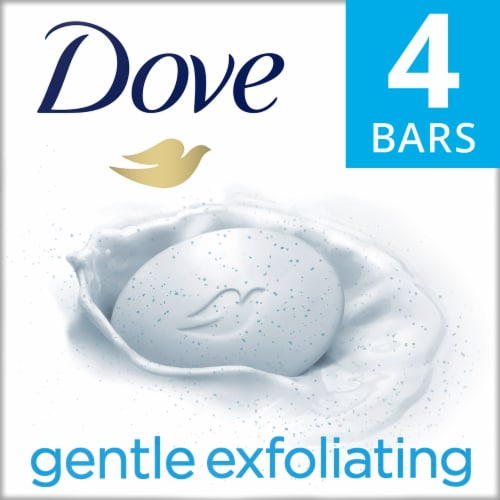 Dove Gentle Exfoliating Beauty Bar Perspective: front