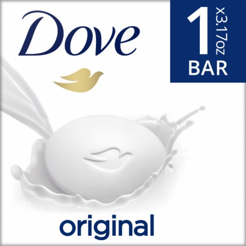 Dove Beauty Bar Soap Perspective: front