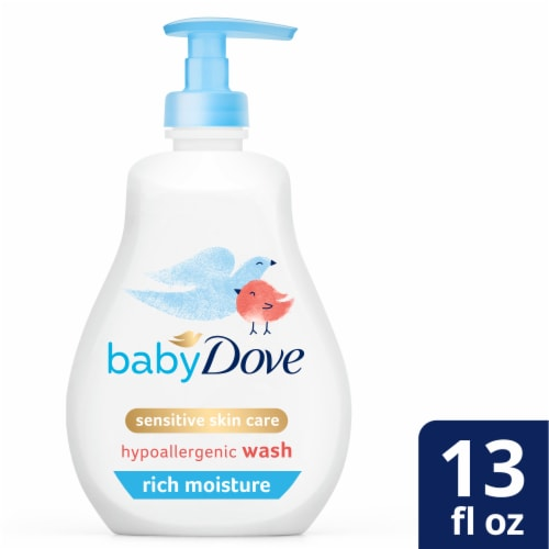 Baby Dove Rich Moisture Baby Wash Perspective: front
