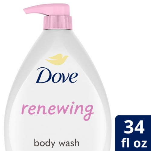 Dove Purely Pampering Sweet Cream With Peony Body Wash Perspective: front