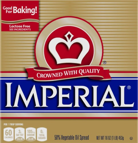 Imperial 53% Vegetable Oil Spread Sticks Perspective: front