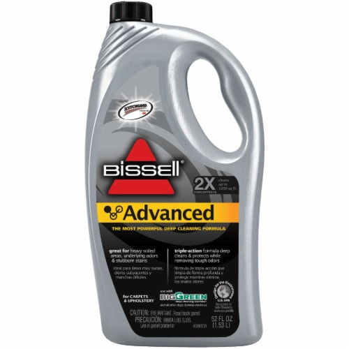 Bissell  Advanced  Carpet Cleaner  52 oz. Liquid  Concentrated - Case Of: 1; Perspective: front