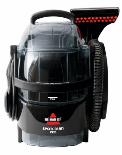 Bissell® SpotClean Professional Portable Carpet Cleaner - Black Perspective: front
