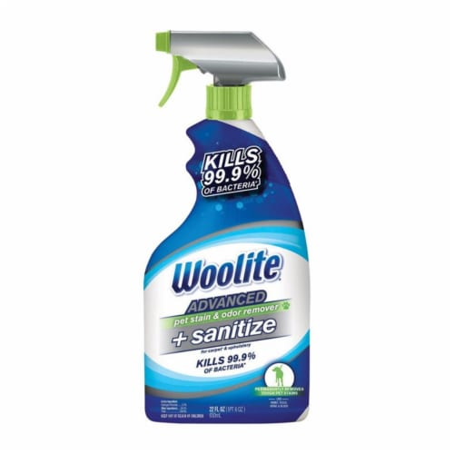 Woolite Advanced Pet Stain & Odor Remover + Sanitizer Perspective: front