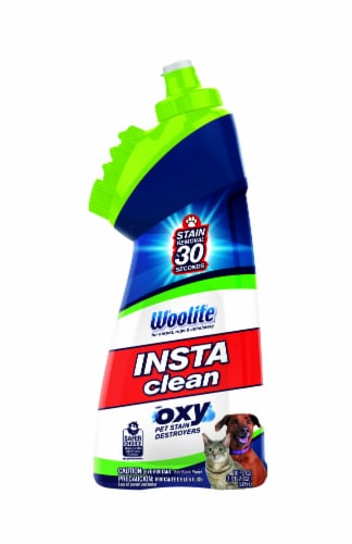 Woolite Instaclean Oxy Pet Stain Remover with Brush Head Perspective: front