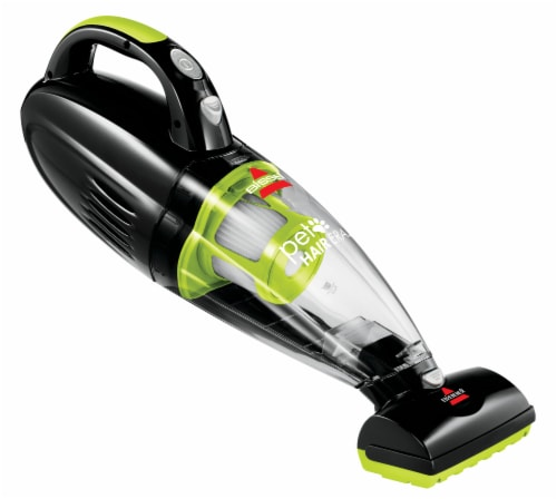 Bissell® Pet Hair Eraser® Cordless Handheld Vacuum - Green / Black Perspective: front