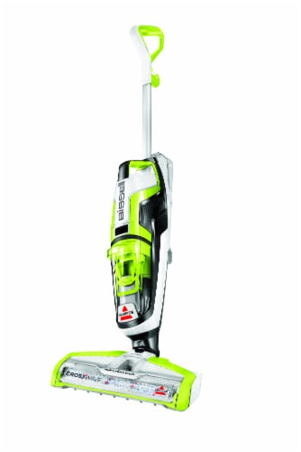 Bissell® CrossWave® Wet Dry Vacuum - Green/Black/White Perspective: front