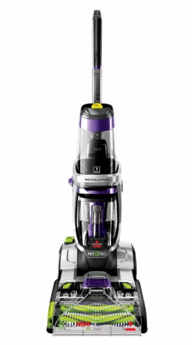 Bissell ProHeat 2X Revolution Pet Pro Carpet Cleaner - Silver/Purple Perspective: front