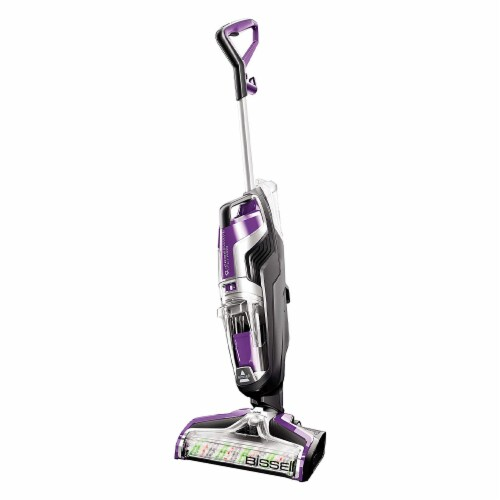 Bissell 2306A CrossWave Pet Pro Multi-Surface Wet Dry Vacuum Cleaner, Purple Perspective: front
