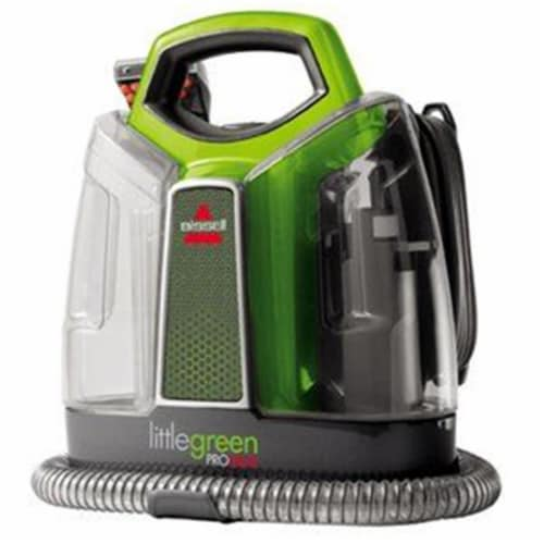 Bissell  Little Green ProHeat  Bagless  Carpet Cleaner  3 amps Standard  Green - Case Of: 1; Perspective: front