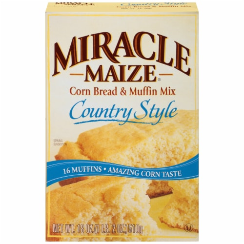 Miracle Maize Country Style Corn Bread & Muffin Mix Perspective: front
