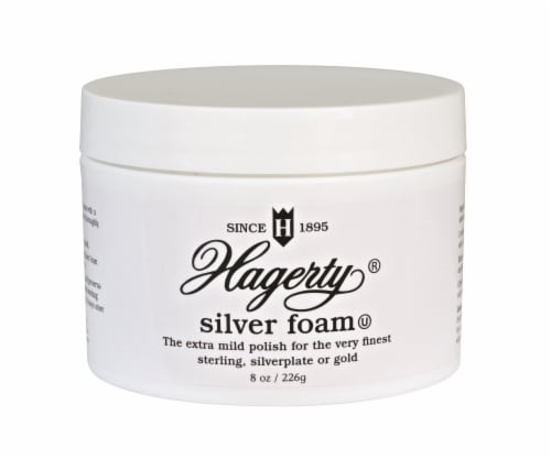 Hagerty Silver Foam Polish Perspective: front