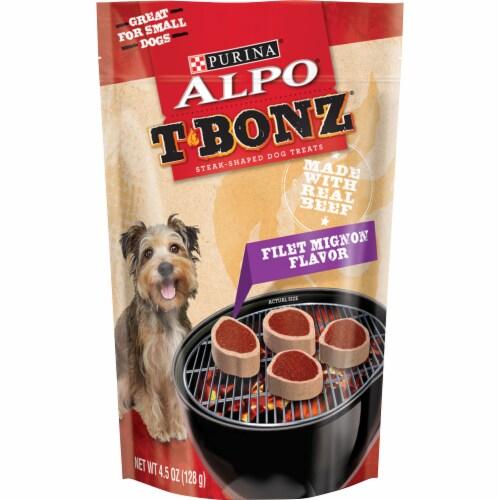 ALPO T-Bonz Filet Mignon Flavor Dog Treats Perspective: front