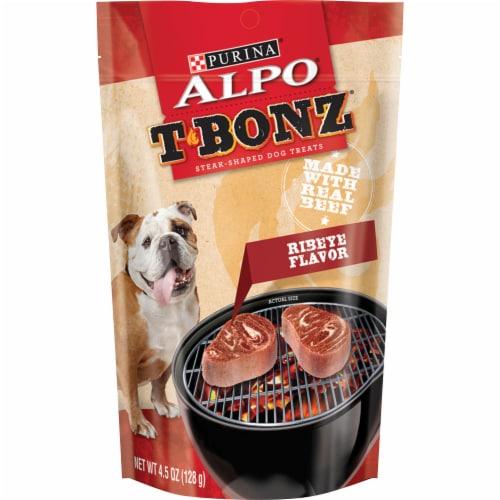 ALPO T-Bonz Ribeye Flavor Dog Treats Perspective: front