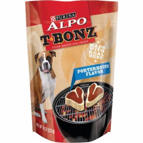 ALPO TBonz Porterhouse Flavor Dog Treats Perspective: front
