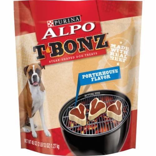ALPO® T-Bonz® Porterhouse Flavor Dog Treats Perspective: front