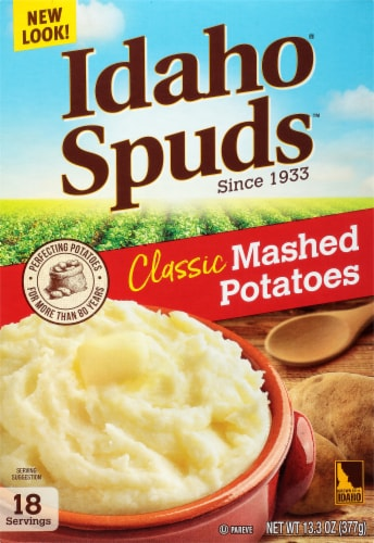 Idaho® Spuds™ Mashed Potatoes Classic Flakes Perspective: front