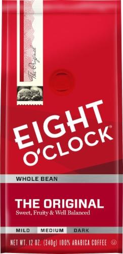 Eight O'Clock The Original Medium Roast Whole Bean Coffee Perspective: front