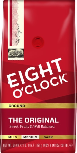 Eight O'Clock Original Ground Coffee Perspective: front