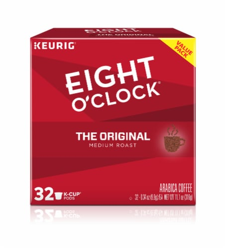 Eight O'Clock The Original Medium Roast K-Cup Pods Perspective: front