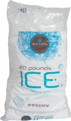 Roundy's Ice Pillow Bag Perspective: front