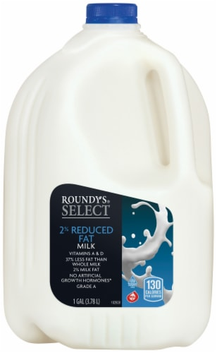Roundy's® Select 2% Reduced Fat Milk Perspective: front