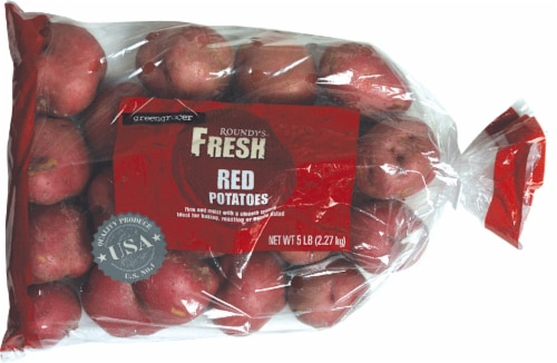 Roundy's Fresh Red Potatoes Perspective: front