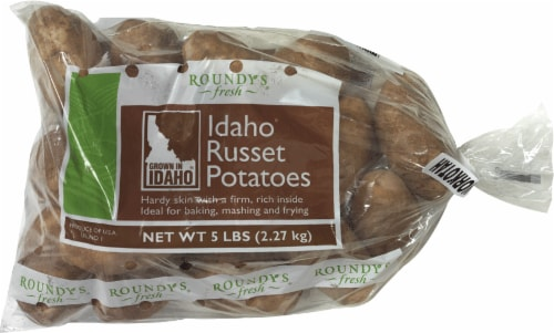 Roundy's Idaho Russet Potatoes Perspective: front